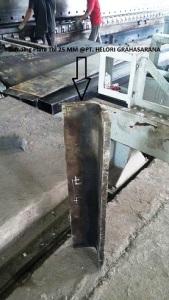 jasa bending plat 25 mm